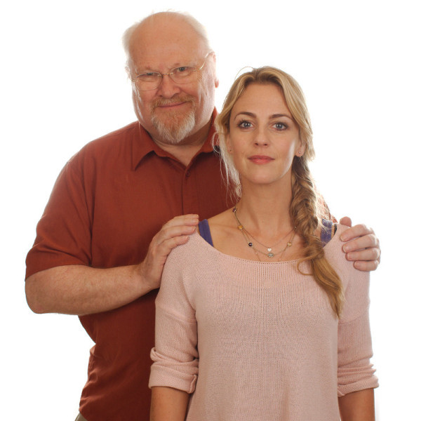Colin Baker and Miranda Raison (c) Tony Whitmore