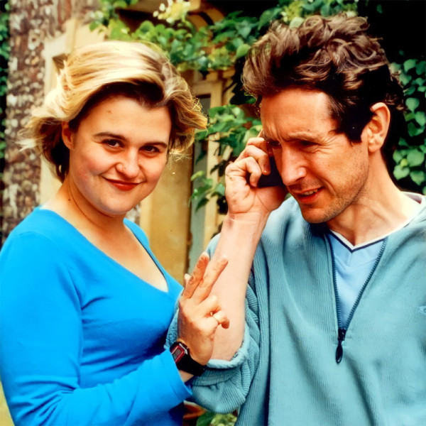 India Fisher and Paul McGann 2000 (c) Big Finish