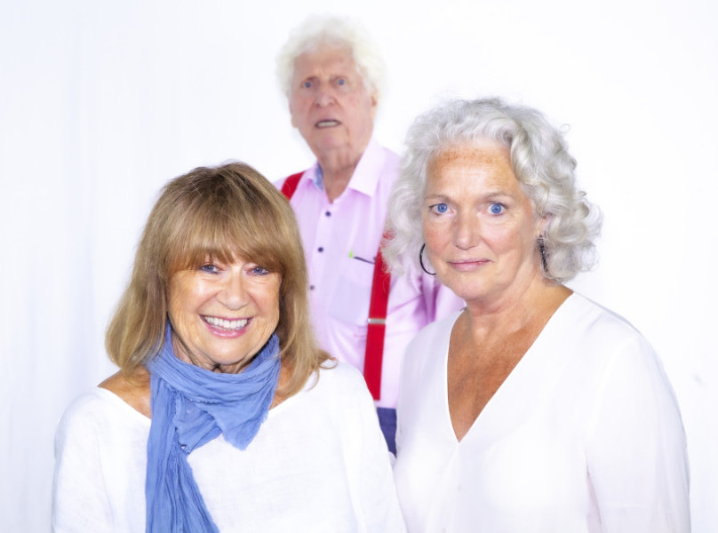 Nerys Hughes, Tom Baker, Louise Jameson (c) Paul Midcalf