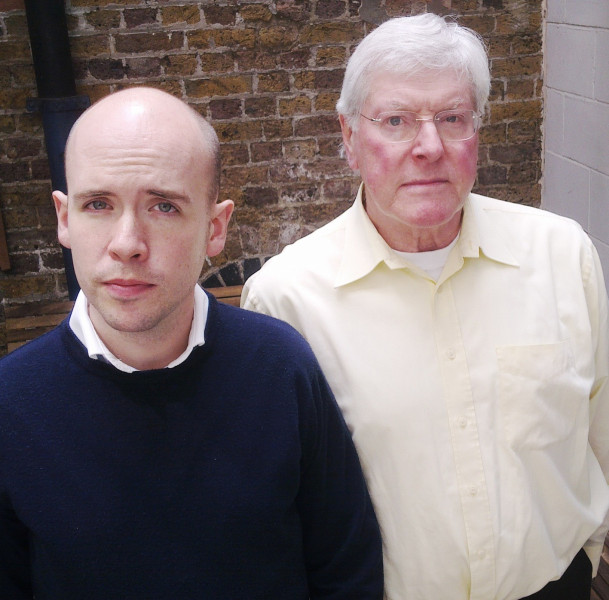 Peter Purves and Tom Allen