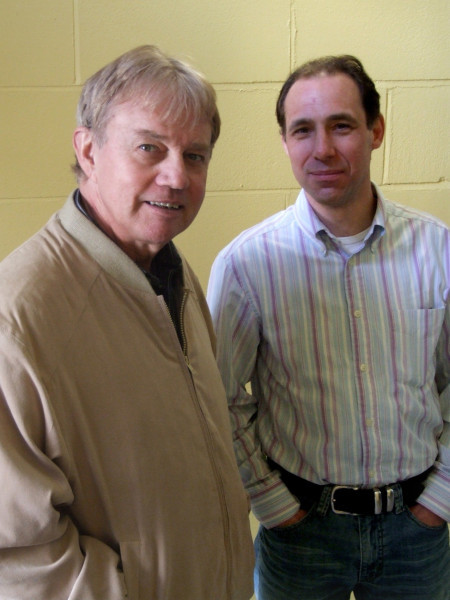 Frazer Hines and Andrew Fettes