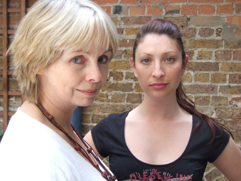 Lalla Ward and Jess Robinson