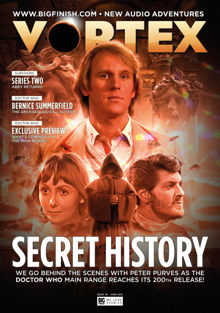 ISSUE #84 FEB 2016 DOCTOR DR WHO BIG FINISH MAGAZINE VORTEX THE WAR DOCTOR