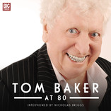 Cover Unveiled for Doctor Who's Tom Baker's 80th Birthday Release
