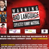 Bad Language Recording - With Doctor Who Guest Star Richard Herring!