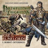 The Sixth Day of Big Finishmas: Special Offers on Pathfinder Legends: Burnt Offerings.