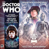 Doctor Who- The Fourth Doctor Adventures: Return to Telos Cover Revealed