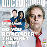 Doctor Who Magazine - Cover and Sixth Doctor News