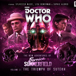 Bernice Summerfield: The Triumph of Sutekh - Cover Online!