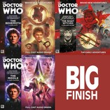 Cover reveal: Colin Baker and the Second Doctor