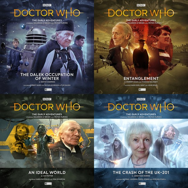 Series 5 of the First Doctor Adventures