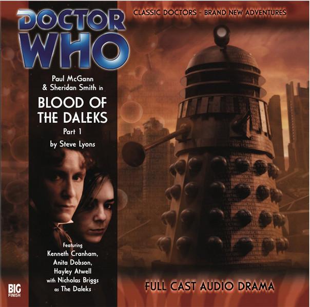 Okładka Blood of the Daleks
