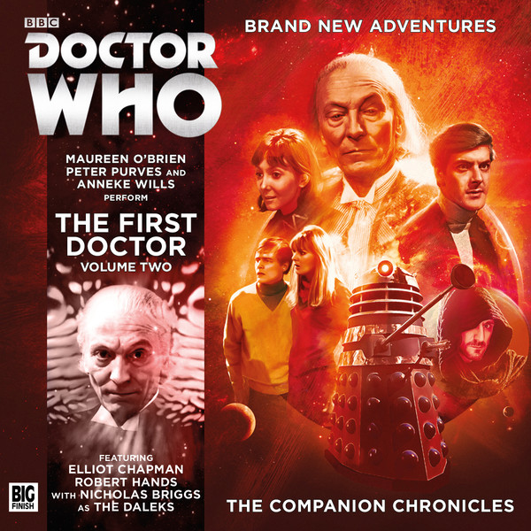 BF - Doctor Who - The Companion Chronicles - Series 11 - The 1st Doctor Volume 2 - John Pritchard, David Bartlett, Una McCormack, Guy Adams