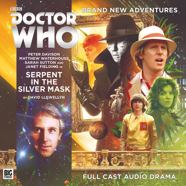 BF - Doctor Who - Monthly Range - 236. SERPENT IN THE SILVER MASK - David Llewellyn