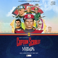 Captain Scarlet and the Mysterons 50th Anniversary Limited Edition Deluxe Box Set