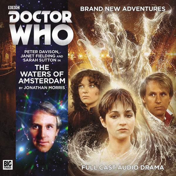 Doctor Who: The Waters of Amsterdam Cover