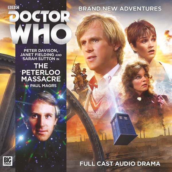 Doctor Who: The Peterloo Massacre Cover