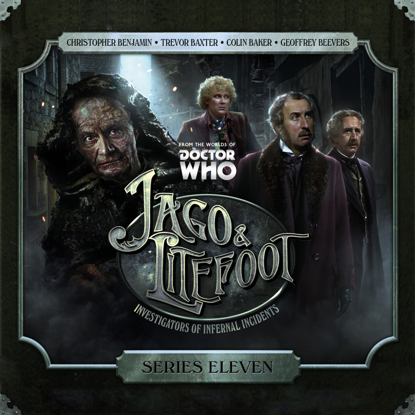 Jago & Litefoot Series 11 - Nigel Fairs, Matthew Sweet, Simon Barnard, Paul Morris, Justin Richards