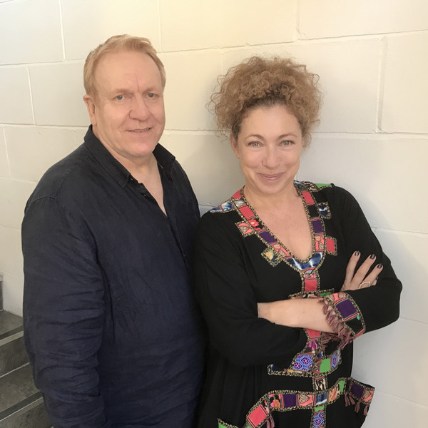 Alex Kingston and Clive Wood