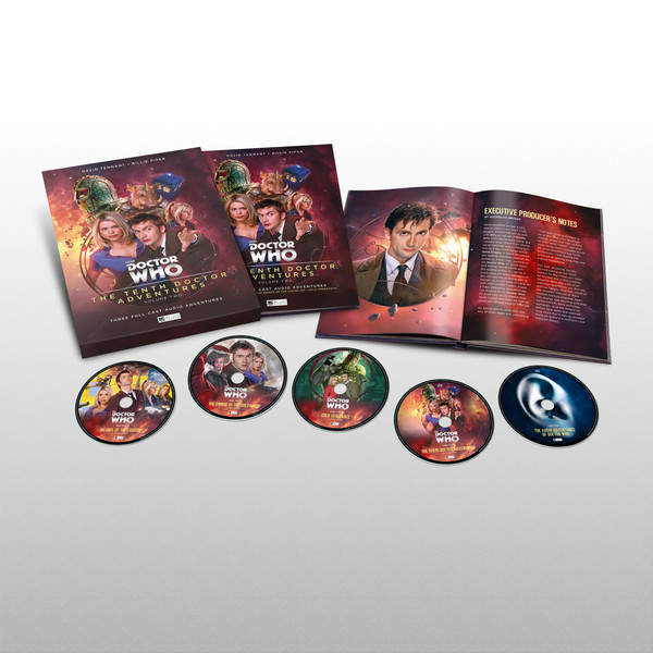 Tenth Doctor Adventures Limited Edition boxset