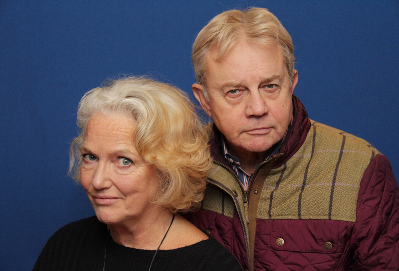 Louise Jameson and Frazer Hines
