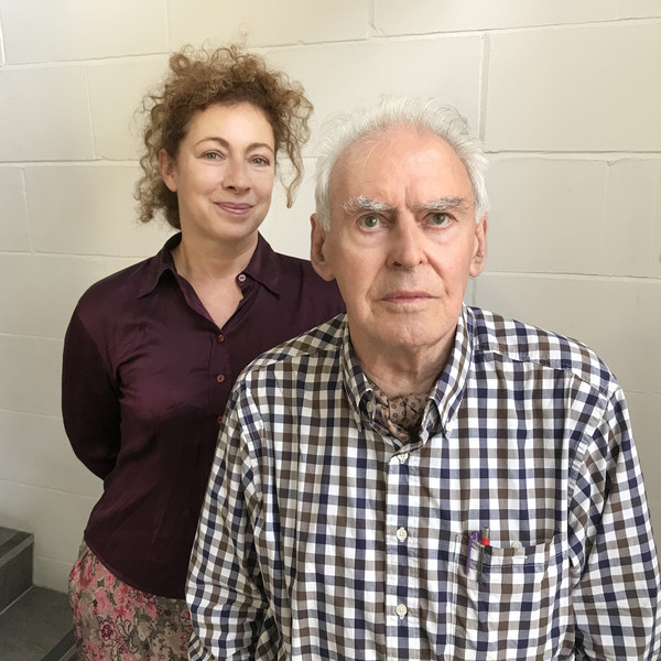 Alex Kingston and Ralph Watson