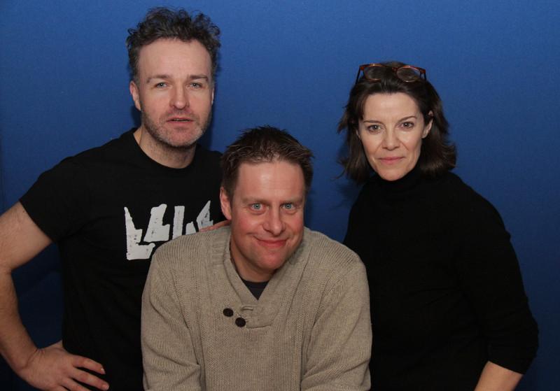 Stephen Fewell, Paul Cornell and Lisa Bowerman