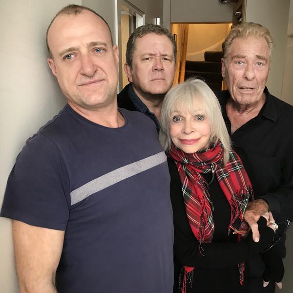 Tim Treloar (Third Doctor), Katy Manning (Jo Grant), Jon Culshaw (Brigadier) and John Levene (Benton)